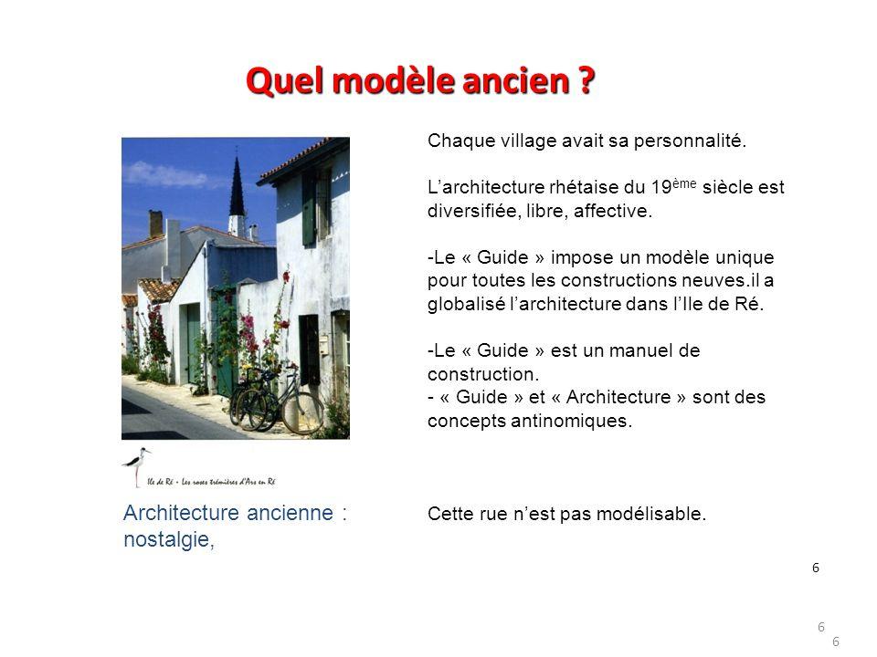 17 …une nouvelle représentation de l'architecture locale est nécessaire… …afin de permettre la mise en œuvre de nouveaux concepts, de nouvelles visions.