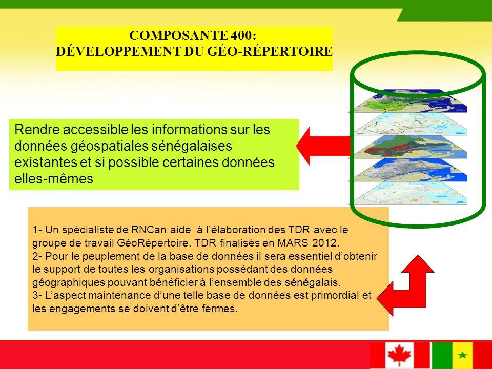 Ministères sénégalais, Agences nationales Institut de statistique Cadastre Domaine Impôt Forêt Hydrographie.