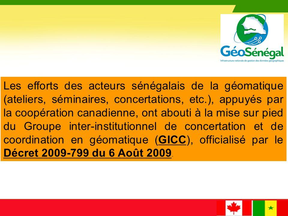 Le GICC - Groupe inter-institutionnel de concertation et de coordination en géomatique - Cadre d'échanges, de concertation, d'orientation et de conduite des projets relatifs à la géomatique, notamment la réalisation et la mise en œuvre d'un Plan National de Géomatique (PNG).