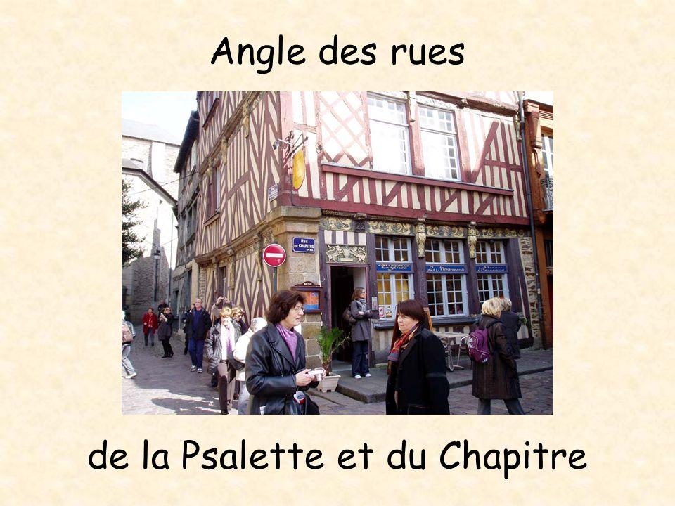 4 rue de la Psalette