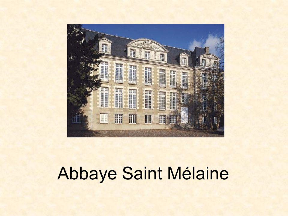 Cloitre de l abbaye Saint Mélaine
