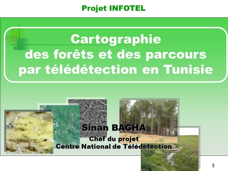 6 HISTORIQUE  Un seul inventaire des forêts et des parcours SIFOP a été réalisé entre 1989 et 1993 (échelle 1/50.000) par la DGF  Surexploitation des ressources naturelles et surpâturage  Faible taux de boisement comparé aux pays du bassin méditerranéen  Désertification affectant plus des 2/3 du territoire national  Non compatibilité des Bases de Données existantes concernant les ressources naturelles  Absence de cartes actualisées et à grandes échelles