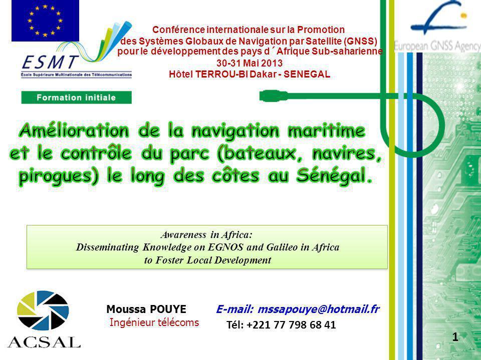 Conférence internationale sur la Promotion des Systèmes Globaux de Navigation par Satellite (GNSS) pour le développement des pays d´Afrique Sub-sahari