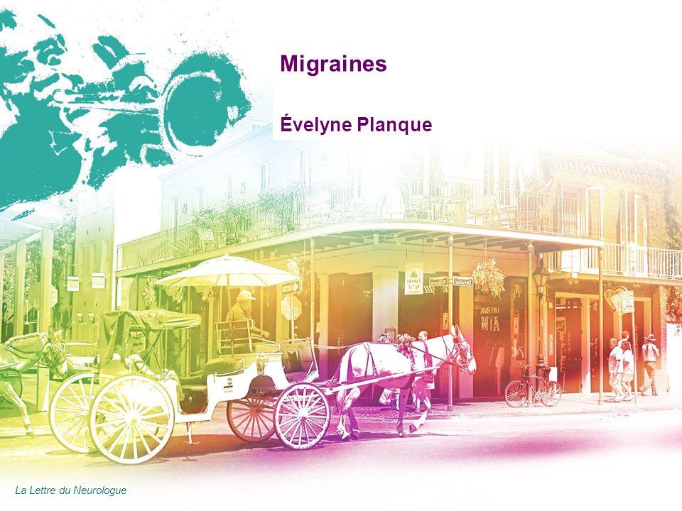 AAN 2011 Migraines Évelyne Planque La Lettre du Neurologue