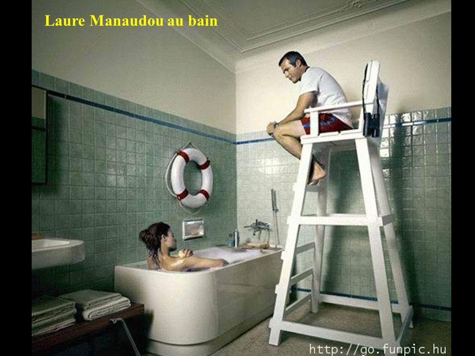 Laure Manaudou au bain