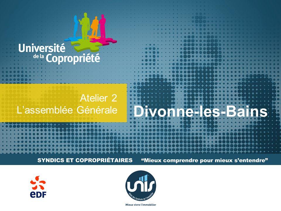 Atelier 2 L'assemblée Générale Divonne-les-Bains