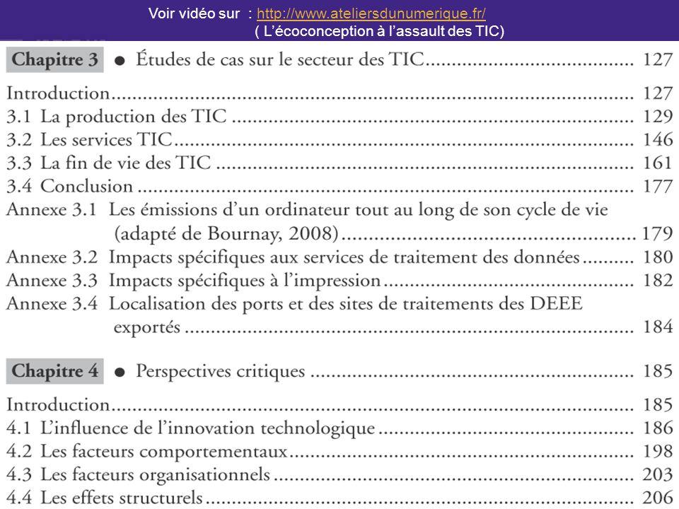 page 2 Voir vidéo sur : http://www.ateliersdunumerique.fr/http://www.ateliersdunumerique.fr/ ( L'écoconception à l'assault des TIC)