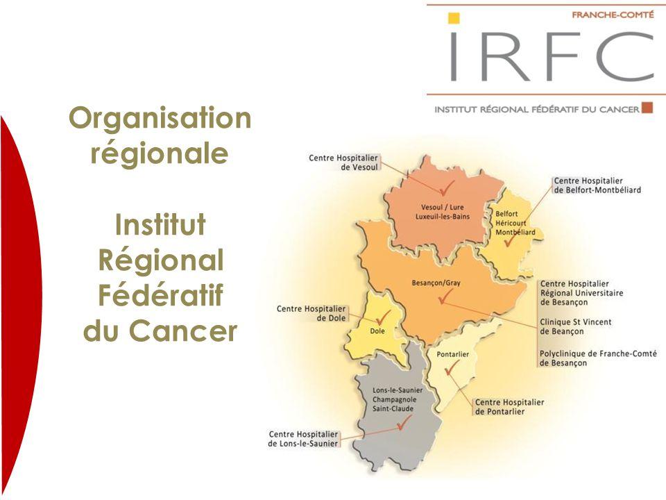 Organisation régionale Institut Régional Fédératif du Cancer