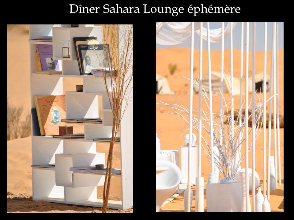 Dîner Sahara Lounge éphémère