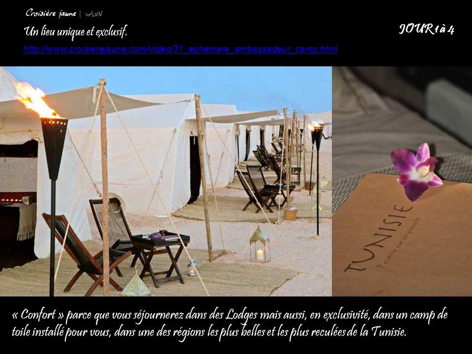 Possibilité de prévoir des conférences dans le désert sous tente ou à ciel ouvert