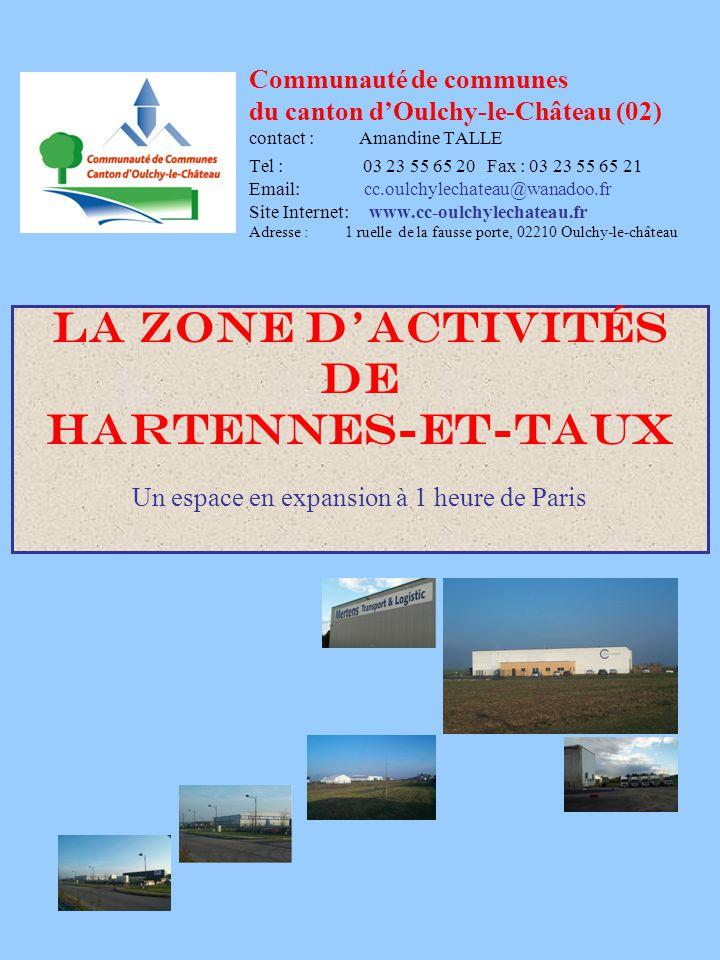 Zone d'activités de Hartennes-et-Taux SURFACES DISPONIBLES Terrain 1 2.3 ha Prix de vente : nous consulter au 01 03 2007 Terrain 2 0.732 ha Prix de vente : nous consulter au 01 03 2007