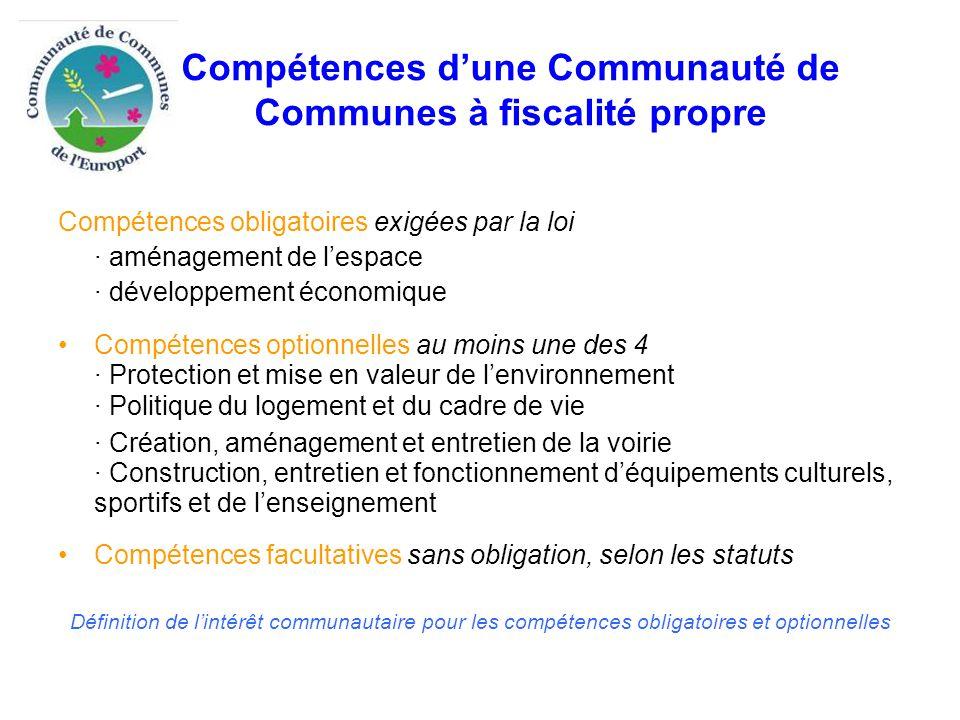 Compétences CAC et CCE Compétences obligatoires  définir l'intérêt communautaire comme suit : Les ZAE existantes : Escarnotières, des crayères, l extension de Recy-Saint Martin, Voitrelle, Mont Bernard, 2ème zone de St Gibrien, Centre d Entreprises Jacquesson, ZAE artisanale de Recy, ZAE de Condé sur Marne, zone d activité de l Europort, ZAE des Crayères située à Sommesous Les ZAE futures (établies en fonction de critères objectifs d'intérêt communautaire (taille des implantations, activités stratégiques pour le territoire,….).