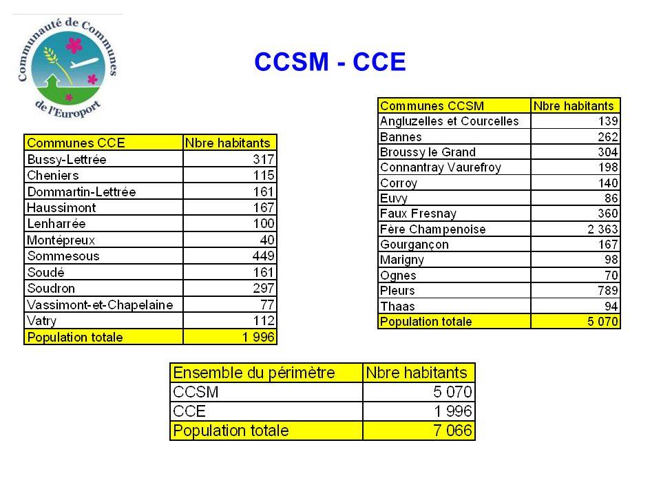 Compétences CCSM et CCE Compétences obligatoires