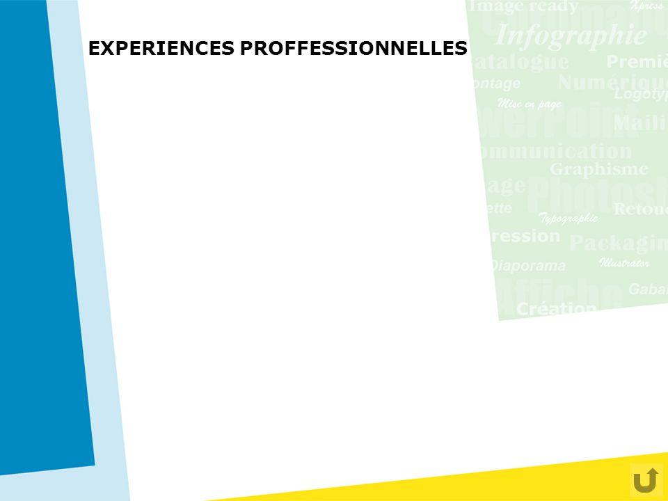 EXPERIENCES PROFFESSIONNELLES 1998 C.A. COMUNNICATION - Agence Conseil en Communication –Réalisation de maquette en volume pour un dossier de presse d