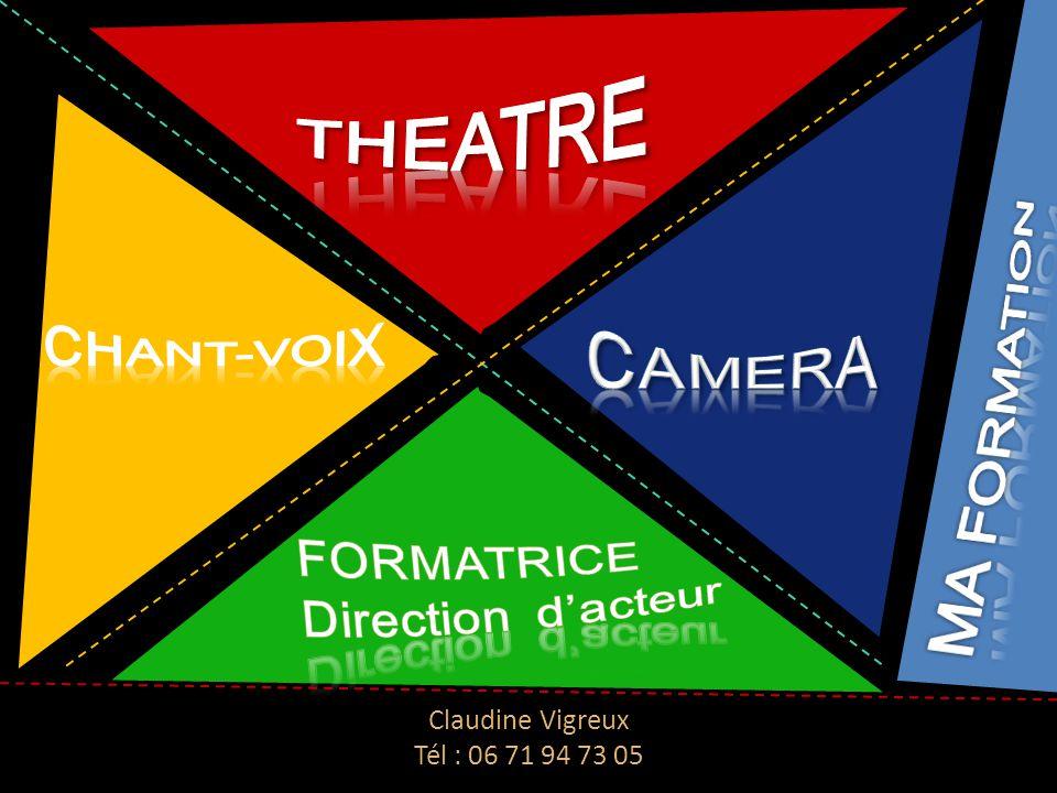 Claudine Vigreux Tél : 06 71 94 73 05