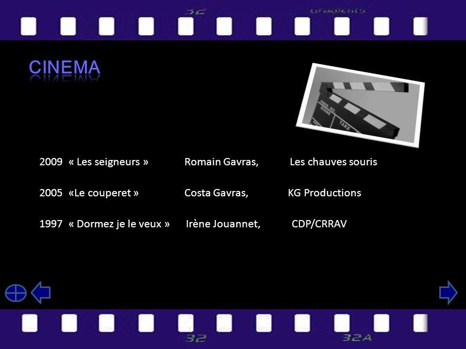 2008 « Plus tard je serais Zorro » Joël Olivier 2004 « Rideaux » Mathieu Gosciniack « Promesse tenue » Stéphane Pézerat 1998 « Coupé du monde » Leïla Habchi