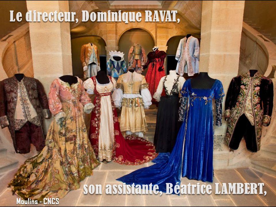 Le directeur, Dominique RAVAT, son assistante, Béatrice LAMBERT, Moulins - CNCS