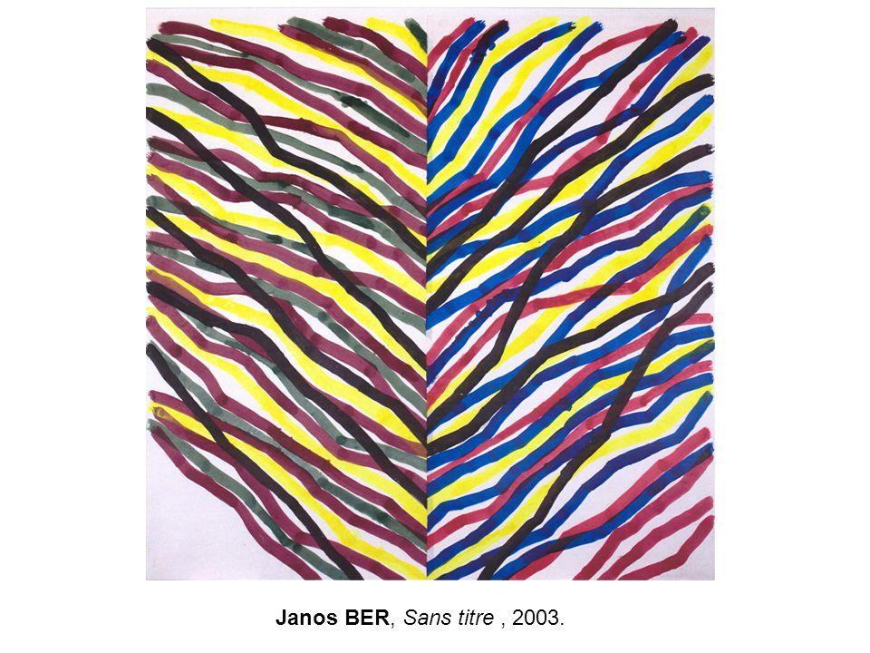 Janos BER, Sans titre, 2003.