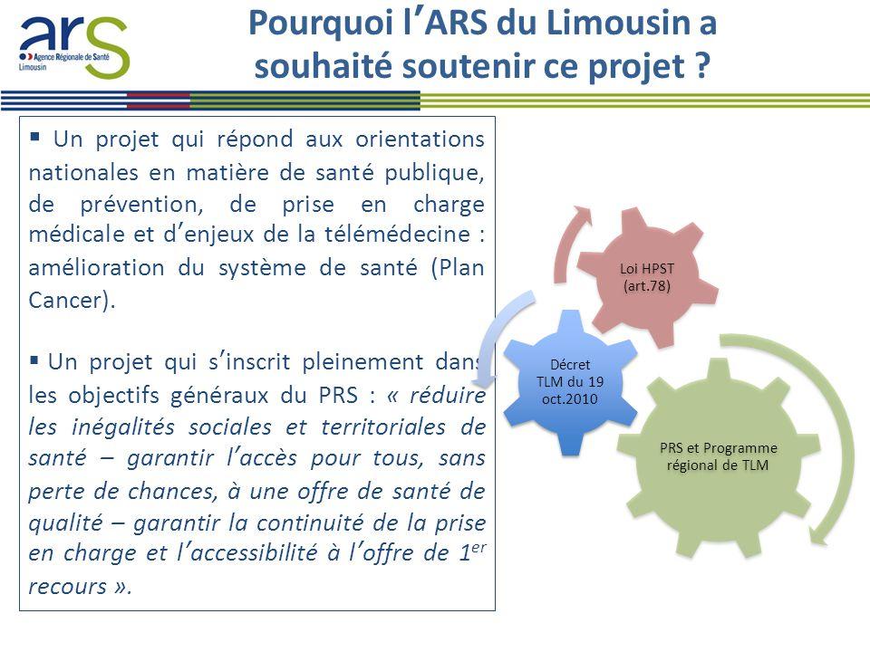 Pourquoi l'ARS du Limousin a souhaité soutenir ce projet .