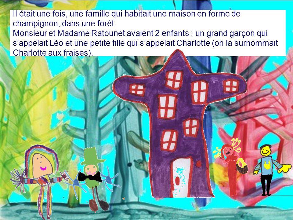 Le loup à grandes dents qui faisait peur aux enfants Auteurs et illustrateurs : Théo, Tino, Léandre, Aurégane, Tristan, Chloé, Alizée, Bénédicte, Océa