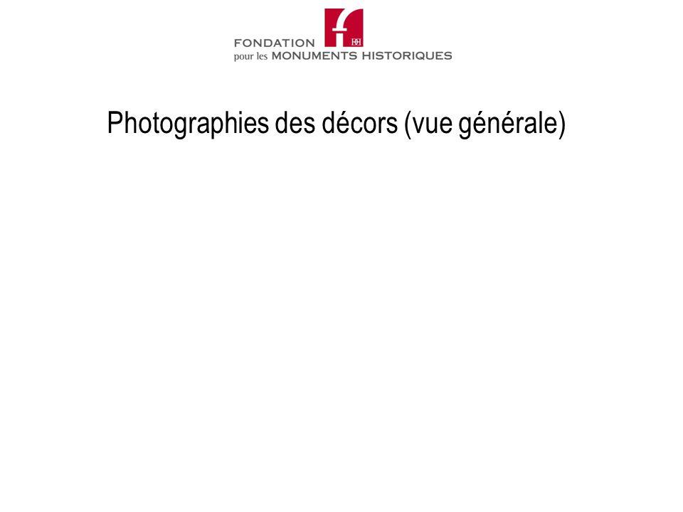 Photographies des décors (vue générale)