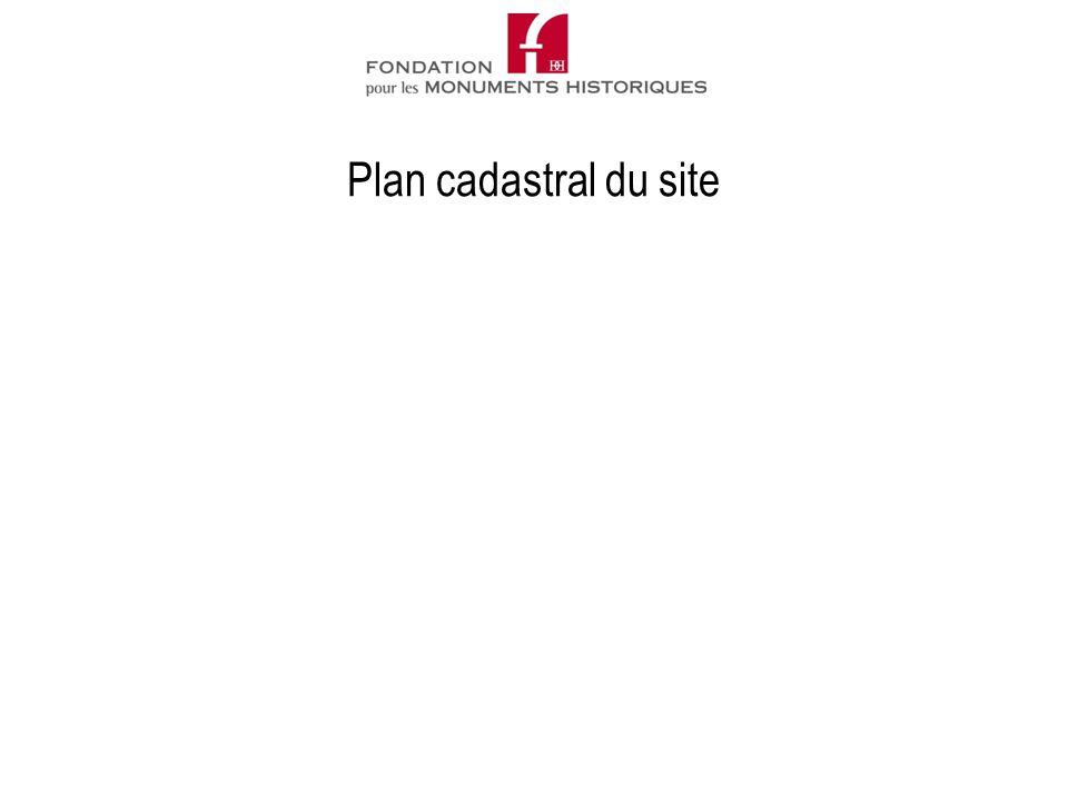 Plan cadastral du site