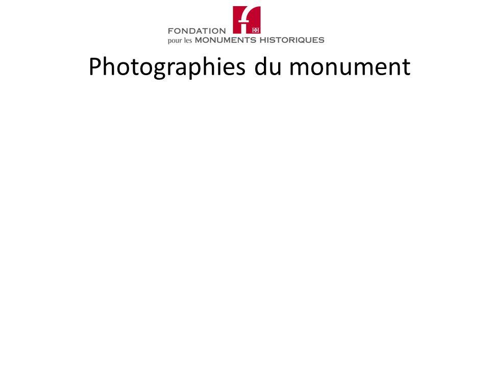 Photographies du monument
