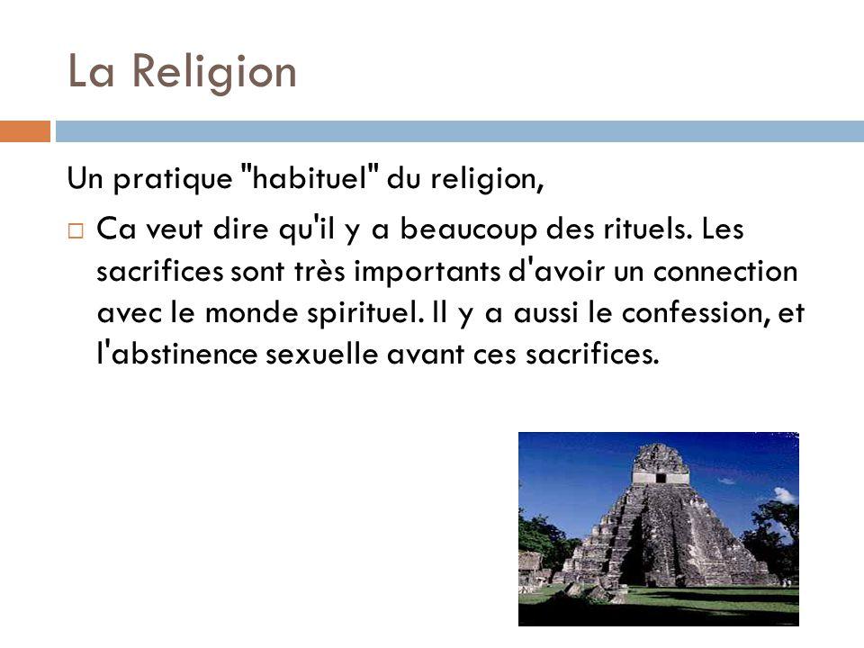 La Religion Un pratique