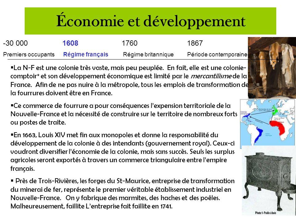 -30 000 16081760 1867 Premiers occupants Régime français Régime britannique Période contemporaine  Au début du 16e siècle (années 1500), la principal
