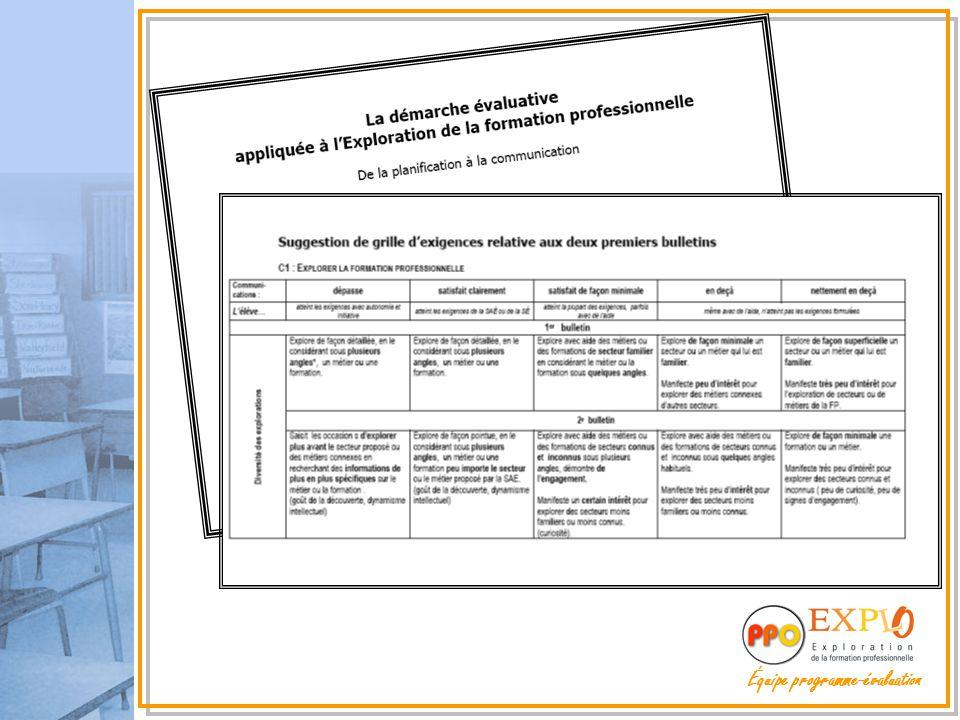Équipe programme-évaluation