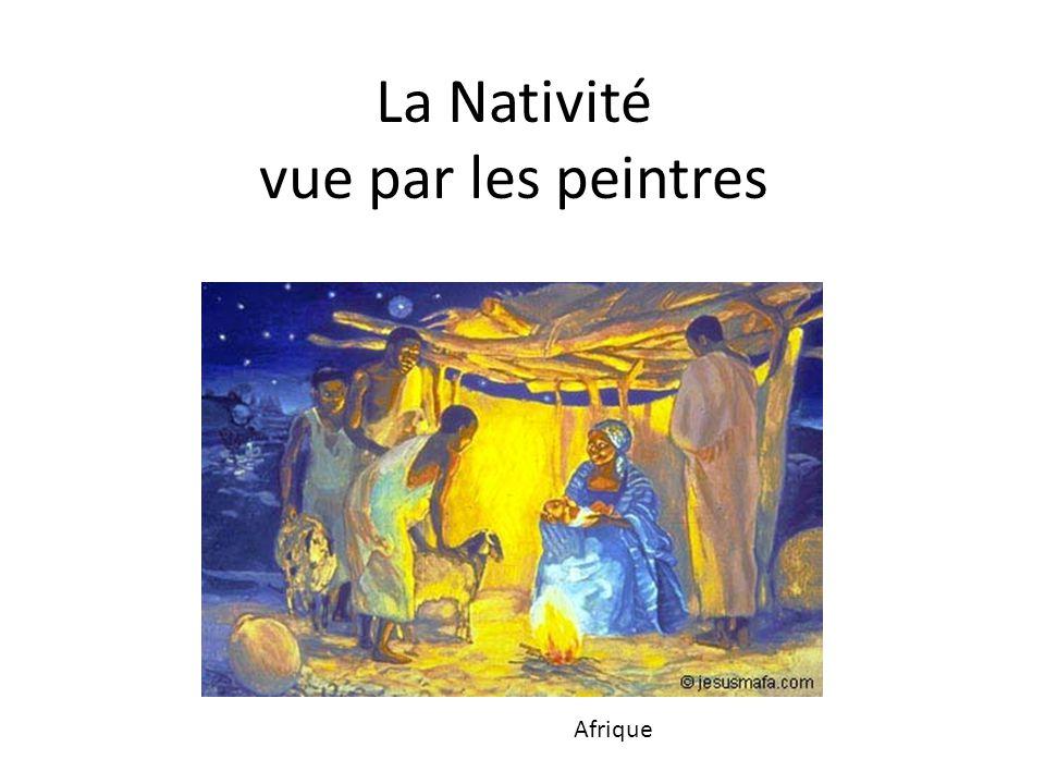 La Nativité vue par les peintres Afrique