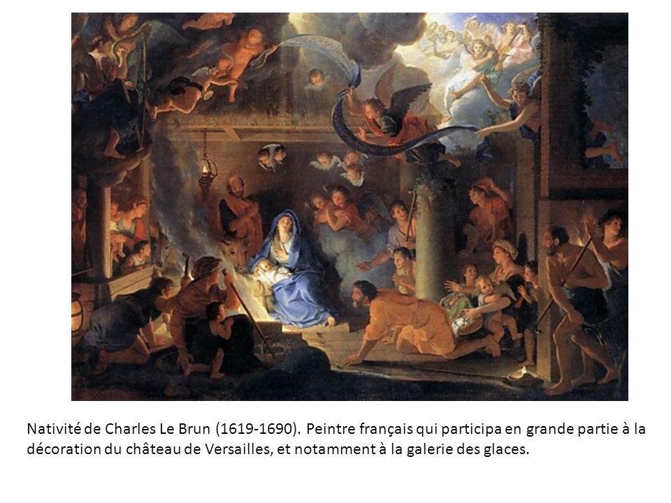Nativité de Charles Le Brun (1619-1690).