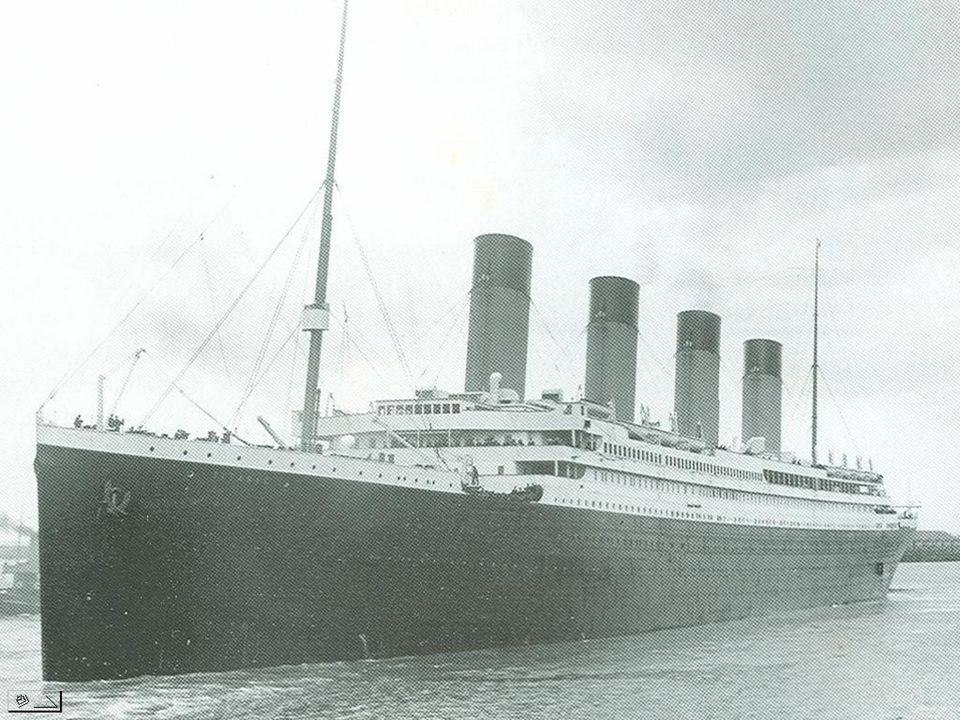 Voici maintenant comment était le navire il y a plus de 100 ans.