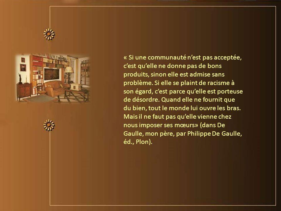 « Le talent est un titre de responsabilité. » Charles de Gaulle