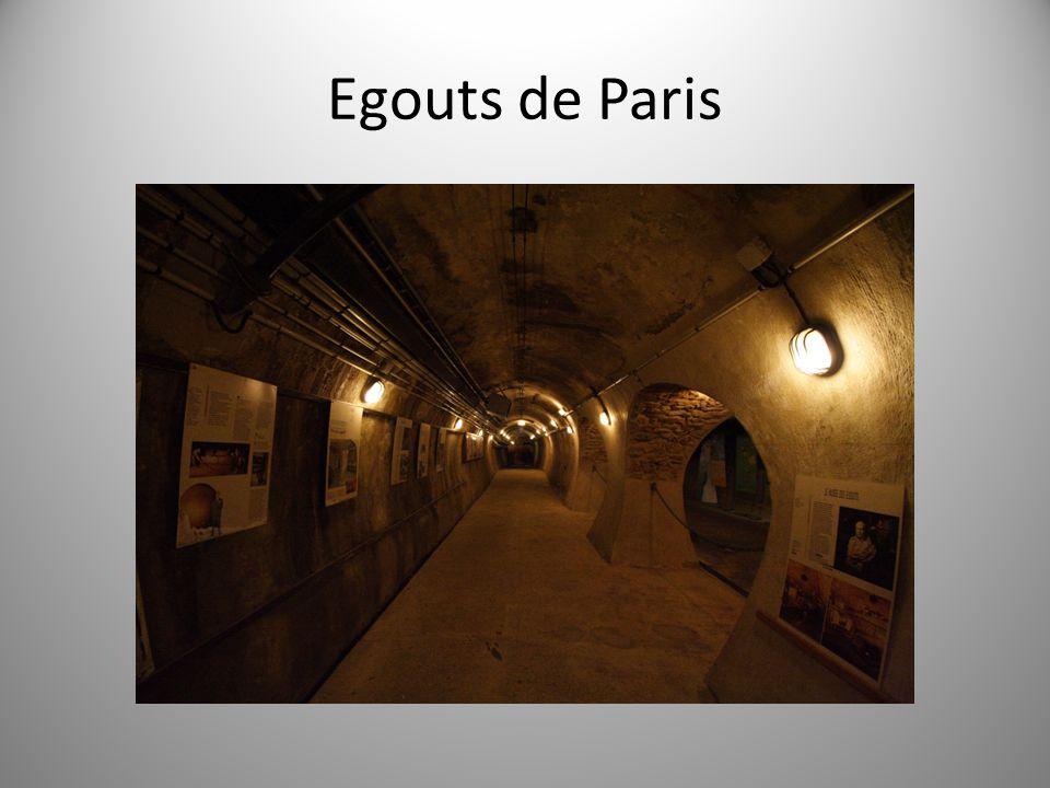 Egouts de Paris