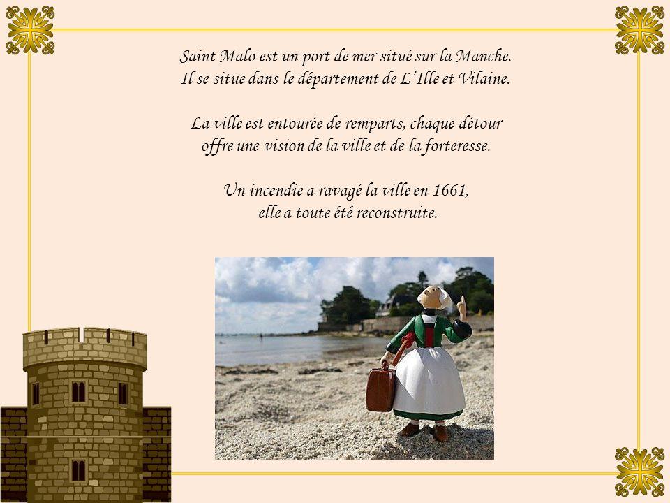 Sur les remparts de St. Malo et Dinan Par Marité 7 ème Volet / 9