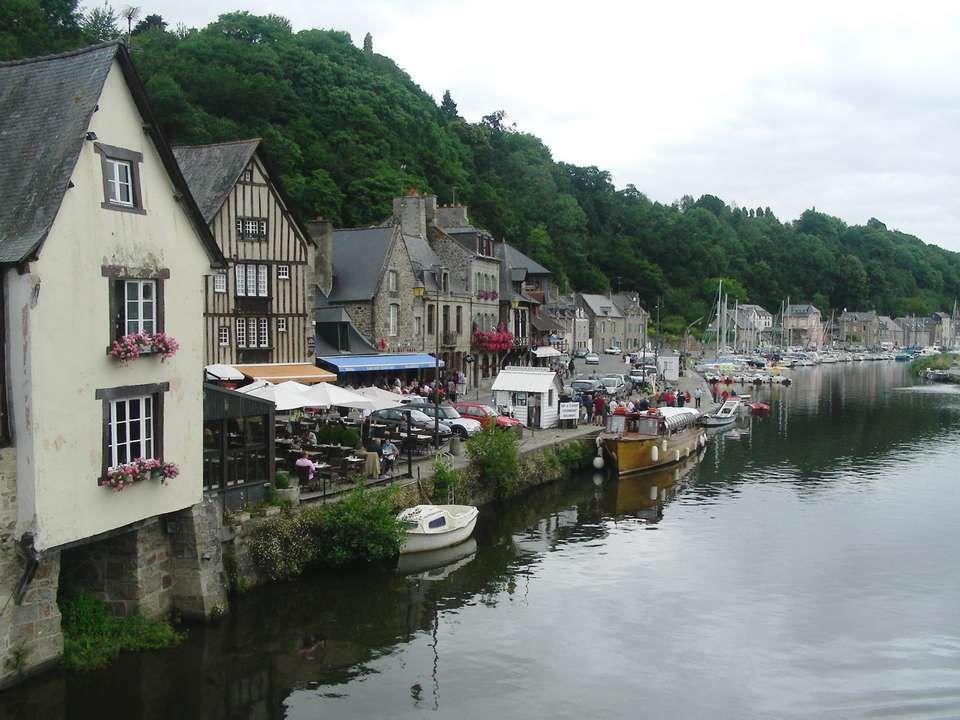 Le fleuve *la Rance* à Dinan