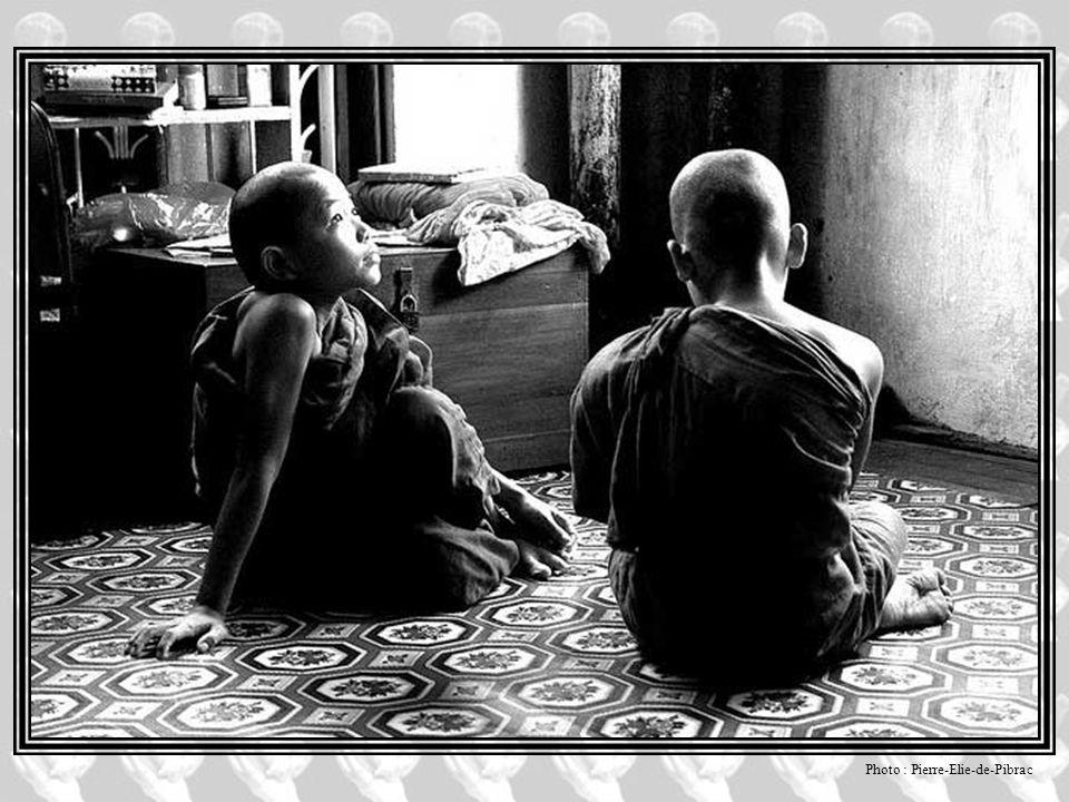 Le bouddhisme Dans le spectre des religions, le bouddhisme est le plus centré sur l'ascétisme, le corps étant vu comme un moyen précieux pour obtenir
