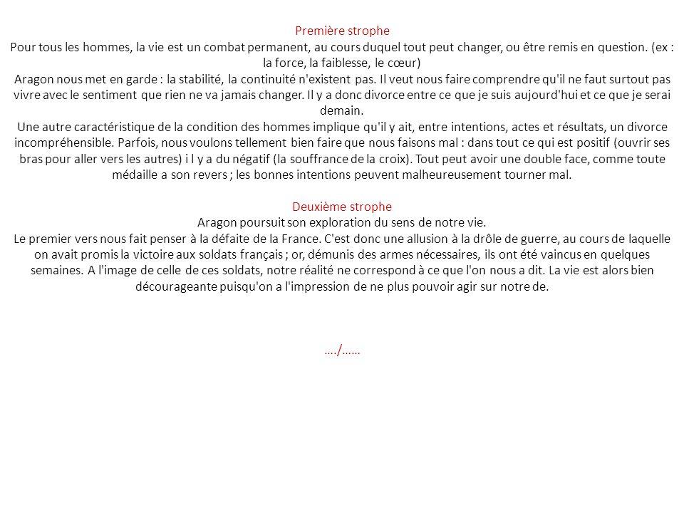 Il n'y a pas d'amour heureux est un poème de Louis Aragon, paru dans La Diane Française en 1946. Écrit en 1943, Aragon y exprime sa conception de l'am