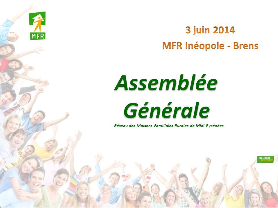 Assemblée Générale Réseau des Maisons Familiales Rurales de Midi-Pyrénées