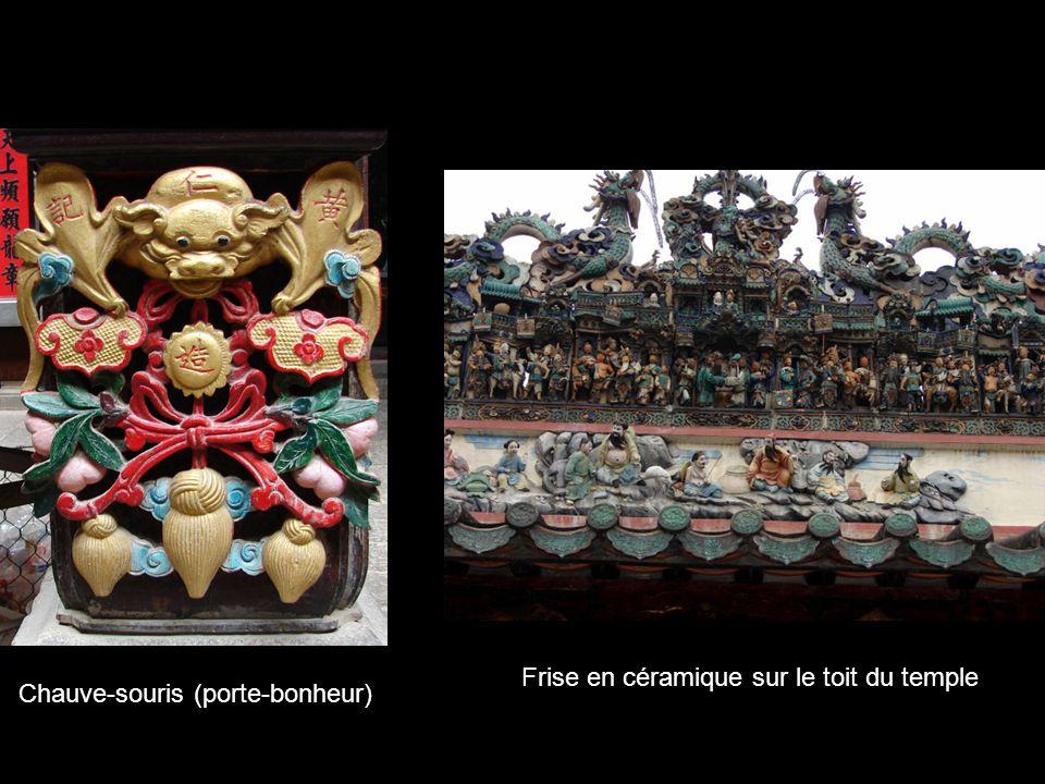Temple chinois Thien Hau (début XIXè) dédié à la déesse de la mer