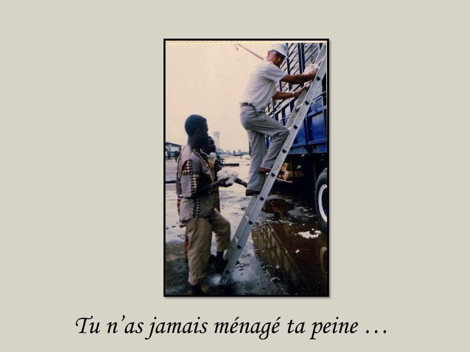 Donc je disais, Du Bénin, au Cameroun,