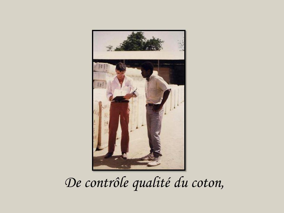 De transport de coton,