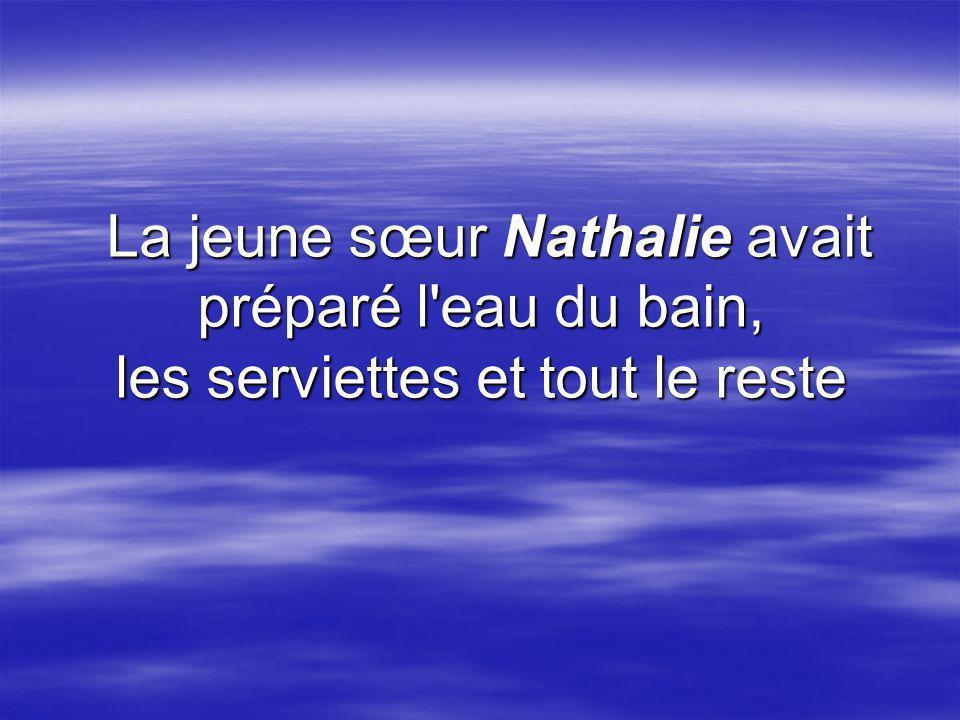 Sœur Nathalie continua : Oui, et le père Joseph m a dit que si la clé du paradis fonctionnait avec ma serrure, les portes des cieux seraient ouvertes pour moi et je serais assurée d être sauvée.