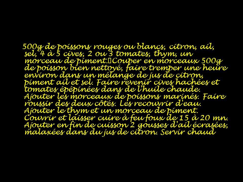 Court-bouillon créole