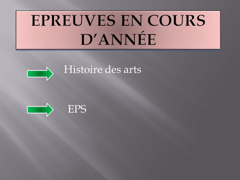 Histoire des arts EPS