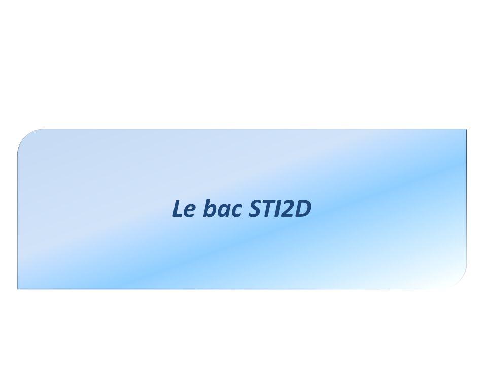 Le bac STI2D