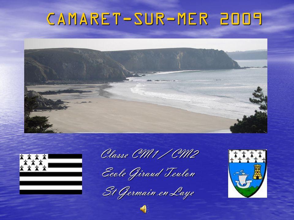 CAMARET-SUR-MER 2009 Classe CM1 / CM2 Ecole Giraud Teulon St Germain en Laye
