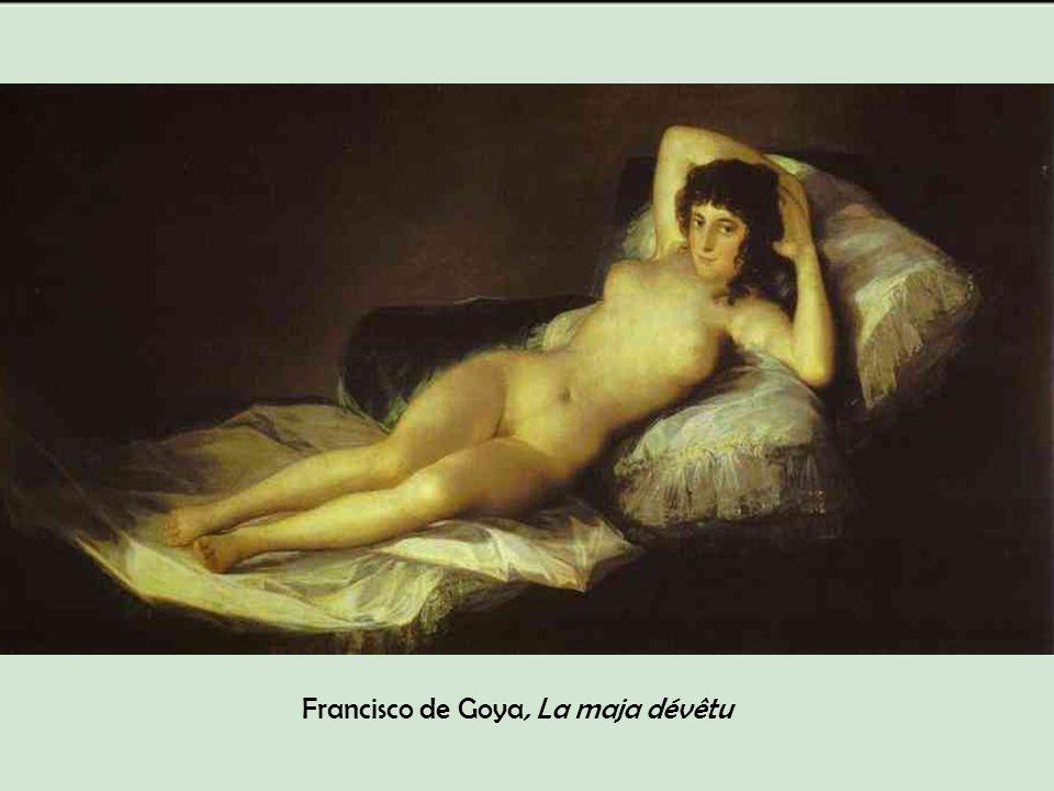 Francisco de Goya, La maja dévêtu
