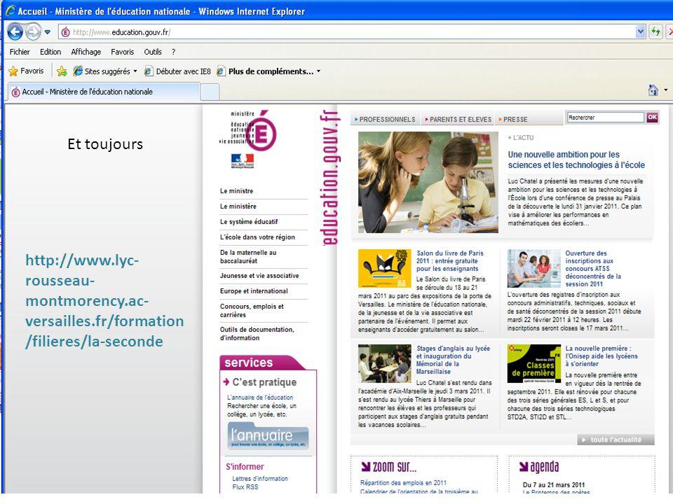 Et toujours http://www.lyc- rousseau- montmorency.ac- versailles.fr/formation /filieres/la-seconde
